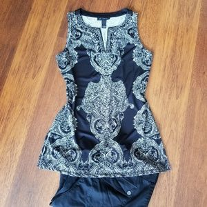 INC Jeweled Tunic (M)